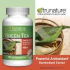 trunature® Green Tea 400 mg, 200 Vegetarian Capsules