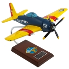F-8F-1 Bearcat Airplane Model