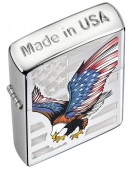 Zippo Eagle Flag Pocket Lighter