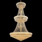 Lighting by Pecaso La Rioja Chandelier in Gold
