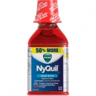 Vicks NyQuil Cold & Flu Cherry Liquid, 12 oz