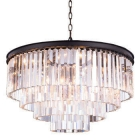 Lighting by Pecaso Metro Chandelier in Dark Bronze