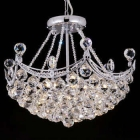 Lighting By Pecaso Pagoda Chandelier in Polished Chrome