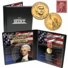 2007 24k GP Jefferson Dollar & Stamp Collection