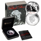 Marilyn Monroe Silver Proof Coin