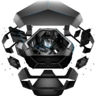 Alienware Area-51 Desktop,  Intel Core i7, Dual 4GB Graphics, Blu-ray, Alienware 1500W Power Supply