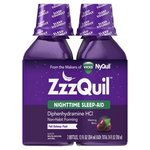 Vicks Zzzquil Nighttime Warming Berry Flavor Nighttime Sleep-Aid Liquid