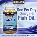 Omega-3 Fish Oil, 180 Softgels