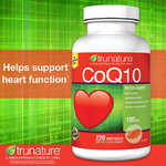 TruNature Coenzyme CoQ10 100 mg - 220 Softgels