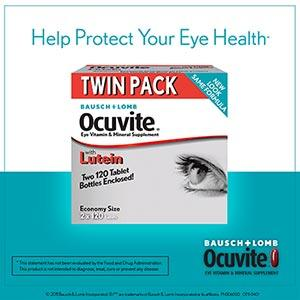Bausch & Lomb Ocuvite® Nutrition for Eyes, 240 Tablets