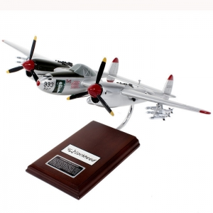 "P-38J Lightning ""Marge"" Airplane Model"