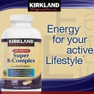 Super B-Complex with Electrolytes, 500 Tablets