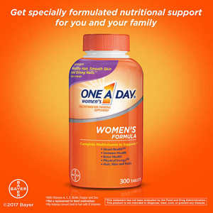 One A Day ® Women's Formula, 300 Tablets