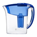 Brita Atlantis Water Filter Pitcher, Blue, 6 Cups 1 ea