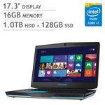 Alienware 17 Laptop ¦ Intel Core i7 ¦ 4GB Graphics ¦ Backlit Keyboard ¦ 1080p