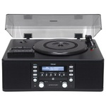 TEAC - USB Turntable and CD Recorder - Black