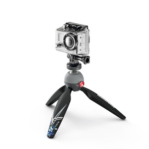 Manfrotto PIXI Mini Tripod with Universal Smartphone Clamp