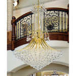 Lighting by Pecaso Contour Gold Chandelier