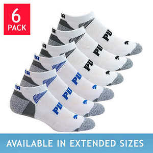 Puma Men™s No Show 6-pair Sock