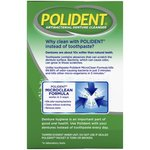 Polident ® Smokers Triple Mint Freshness Antibacterial Daily Denture Cleanser Effervescent Tablets 120 ct Box
