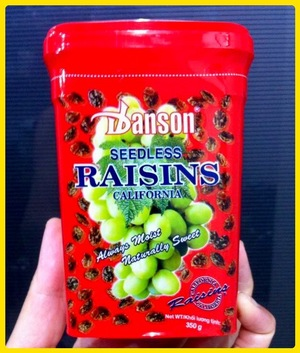 Nho Danson Seedless Raisins Califonia - 350g