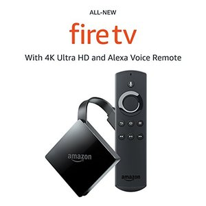 All-new Fire TV with 4K Ultra HD and Alexa Voice Remote