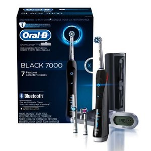 Oral-B Pro 7000 SmartSeries Power Rechargeable Electric Toothbrush Powered by Braun