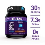 EAS 100 Percents Whey Protein Powder, Chocolate, 30g Protein, 2 lb