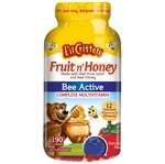 L´il Critters Gummy Fruit Honey Bee Active Complete Multivitamin, 190 Count Gummies