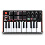 Akai Professional MPK Mini MKII ¦ 25-Key Ultra-Portable USB MIDI Drum Pad & Keyboard