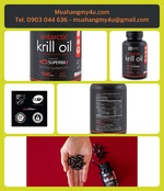 Antarctic Krill Oil (Double Strength) 1000mg per softgel with Omega-3s EPA, DHA and Astaxanthin ¦ 60 Liquid Softgels