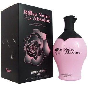 Giorgio Valenti Rose Noire Absolue Women Eau De Parfum Spray, 100ml -  3.3 Ounce
