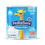 PediaSure Grow & Gain Vanilla Shake Mix, Nutrition Shake For Kids, 14 oz  - 397g