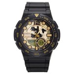 Đồng hồ hiệu Casio Men´s Ana-Digi Dive Style Watch - Black & Gold (AEQ100BW-9AVCF)