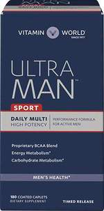 Ultra Man™ Sport Daily Multivitamins - 180 viên