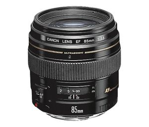 Canon - EF 85mm f/1.8 USM Medium Telephoto Lens - Black