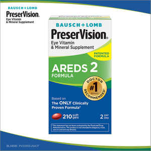 PreserVision AREDS 2 Formula, 210 Soft Gels