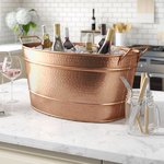 Netherfield Copper Beverage Tub