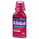 ZzzQuil Nighttime Sleep-Aid Liquid - Diphenhydramine HCl - Cherry - 12 fl oz