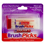 The Doctor´s Brush Picks Interdental Toothpicks - 120 CT (5 packs)