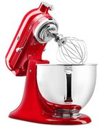 KitchenAid - KSM180QHSD 100 Year Limited Edition Queen of Hearts 5-Qt. Tilt-Head Stand Mixer