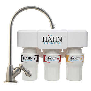 Hahn 3-Stage 600 Gallon Undercounter Water Filtration System