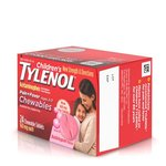Children's Tylenol Chewables Pain - Fever Relief; Bubble Gum; 24 ct