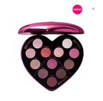 New - MONSIEUR BIG HEART-SHAPED EYESHADOW PALETTE