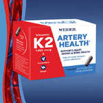 Weider Artery Health with Vitamin K2, 60 Veggie Caps