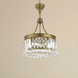 "Lighting by Pecaso Athens Golden Bronze Round Chandelier With Heirloom Grandcut Crystal - 24"" Athens Round Chandelier"