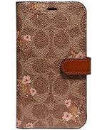 COACH Signature Floral Prairie iPhone X Folio