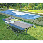 Mac Sports Folding Hammock with Removable Canopy