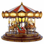 Christmas Deluxe Carousel