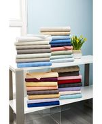 Charter Club Damask Stripe Twin 3-Pc Sheet Set, 550 Thread Count 100 percents Supima Cotton